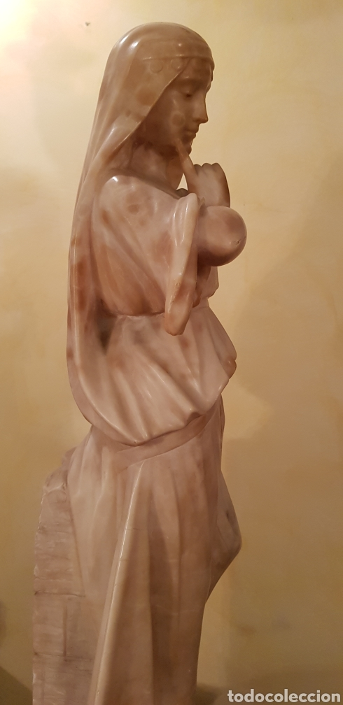 Arte: Escultura modernista de alabastro - Foto 9 - 54772084