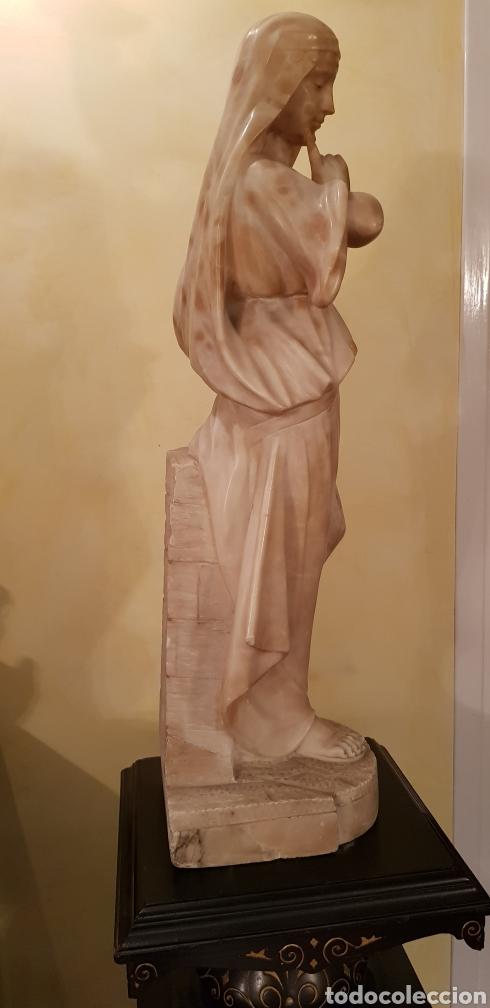 Arte: Escultura modernista de alabastro - Foto 10 - 54772084