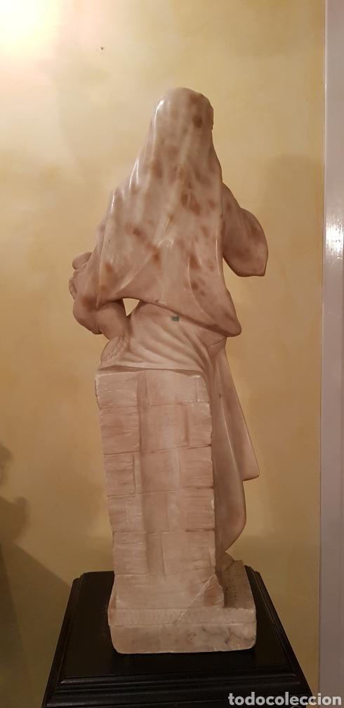 Arte: Escultura modernista de alabastro - Foto 11 - 54772084