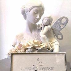 Arte: FIGURA LLADRÓ 6854 - FLORECER DE LA BELLEZA. Lote 238772575