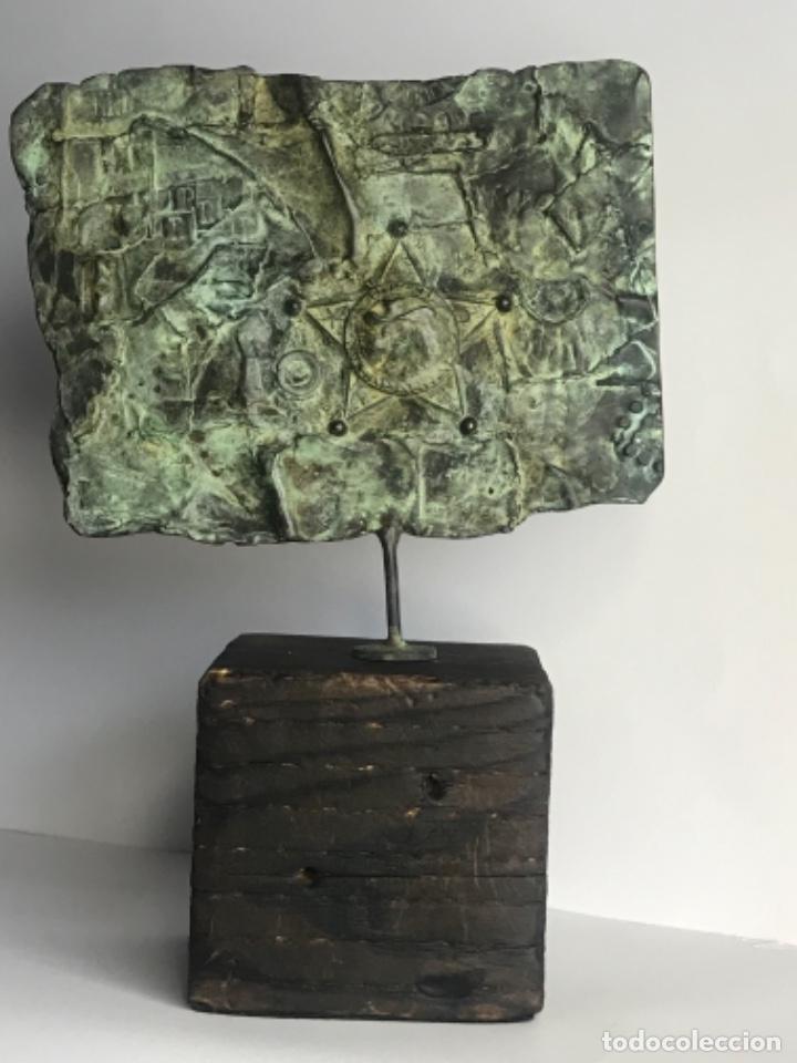 ANTONI CLAVÉ SANTMARTÍ 1913-2005. ESCULTURA DE BRONCE. (Arte - Escultura - Bronce)