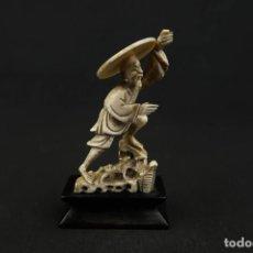Arte: ANTIGUA FIGURA CHINA DE MARFIL SIGLO XIX. Lote 240286530
