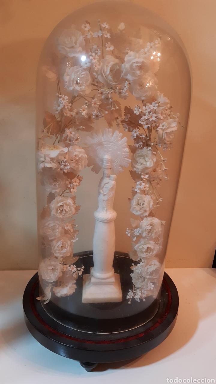 Arte: Fanal con Virgen del Pilar - Foto 3 - 242002370