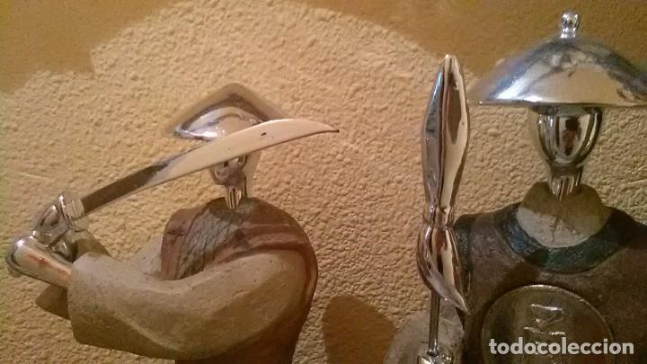 Arte: Samuráis, pareja - Foto 2 - 243347540