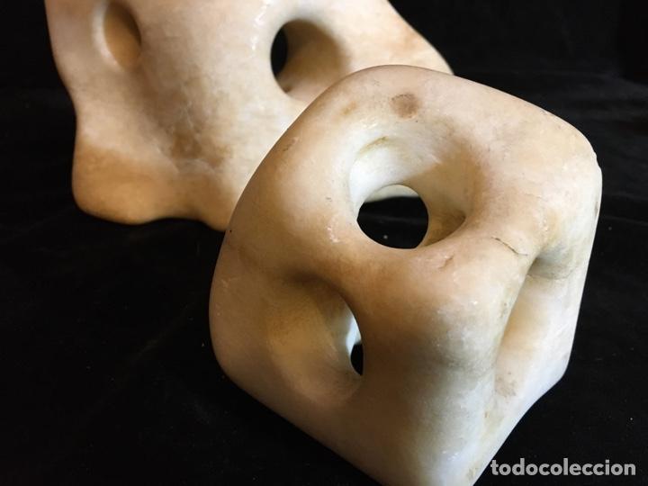 Arte: Escultura abstracta en alabastro - Foto 2 - 243780650