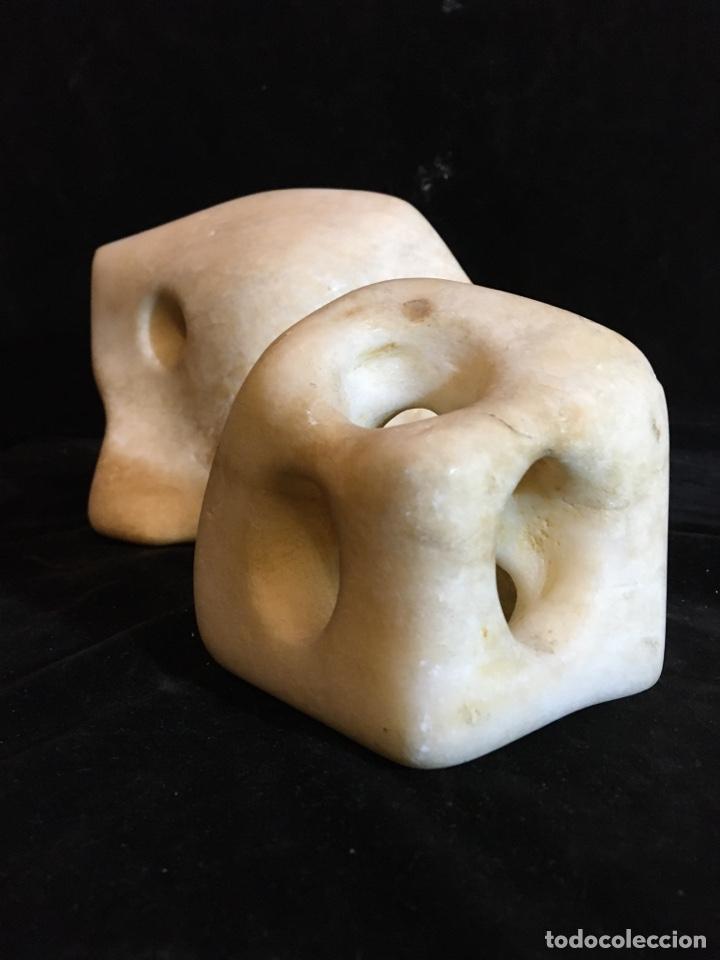 Arte: Escultura abstracta en alabastro - Foto 3 - 243780650