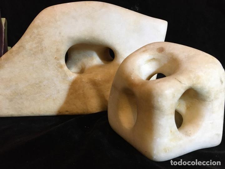 Arte: Escultura abstracta en alabastro - Foto 4 - 243780650
