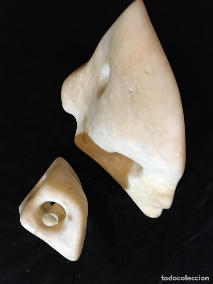 Arte: Escultura abstracta en alabastro - Foto 5 - 243780650