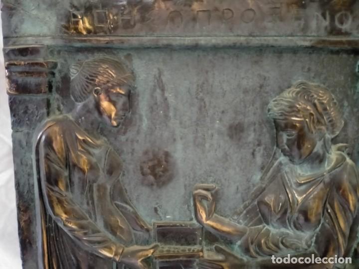 Arte: COPIA DE UNA ESTELA DE LA ANTIGUA GRECIA - Foto 2 - 243943610