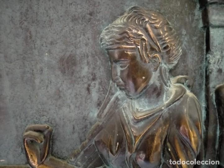 Arte: COPIA DE UNA ESTELA DE LA ANTIGUA GRECIA - Foto 3 - 243943610