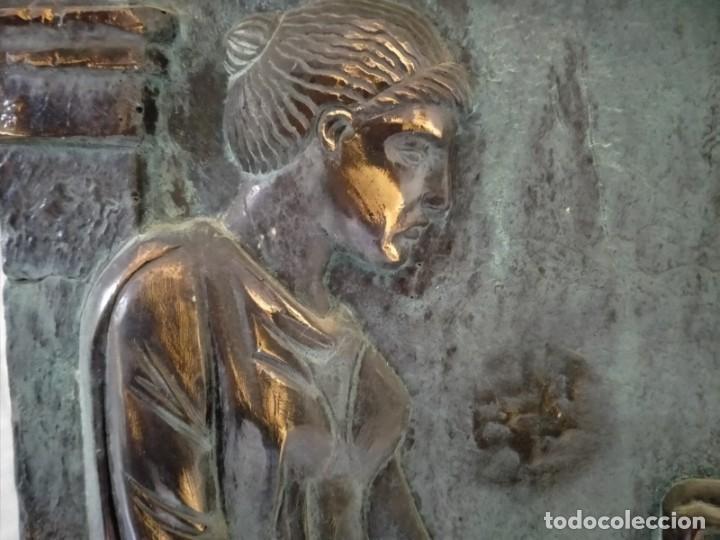 Arte: COPIA DE UNA ESTELA DE LA ANTIGUA GRECIA - Foto 4 - 243943610