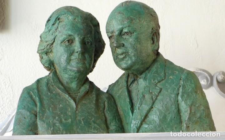 ESCULTURA DE JAVIER M.DE BEDOYA Y MERCEDES SANZ-BACHILLER (Arte - Escultura - Resina)