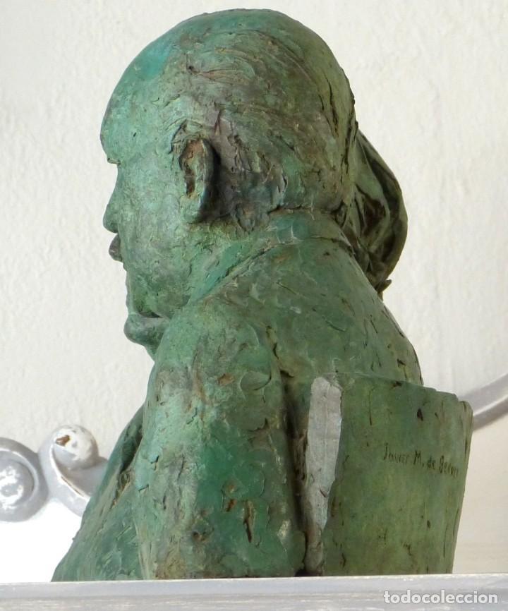 Arte: Escultura de Javier M.de Bedoya y Mercedes Sanz-Bachiller - Foto 2 - 243972445
