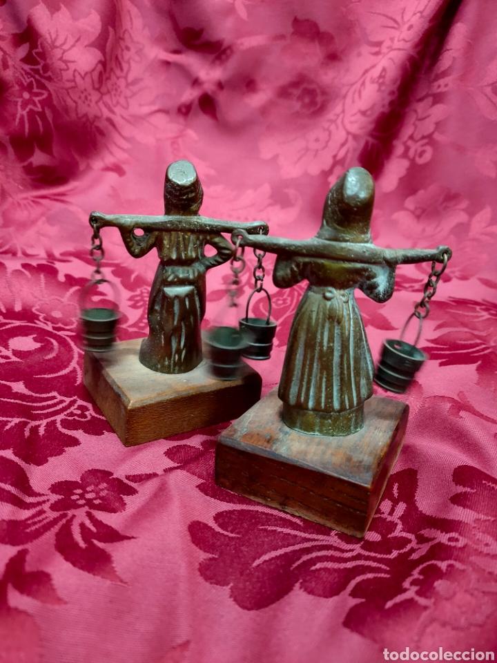 """Arte: Pareja de bronces """"holandeses"""" - Foto 6 - 243993520"""