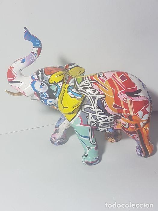 ELEFANTE GRAFFITI (Arte - Escultura - Resina)