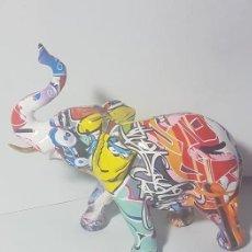 Arte: ELEFANTE GRAFFITI. Lote 244609090