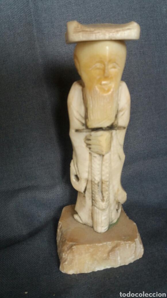 ESCULTURA TALLADA EN MÁRMOL AÑOS 60 (Arte - Escultura - Piedra)