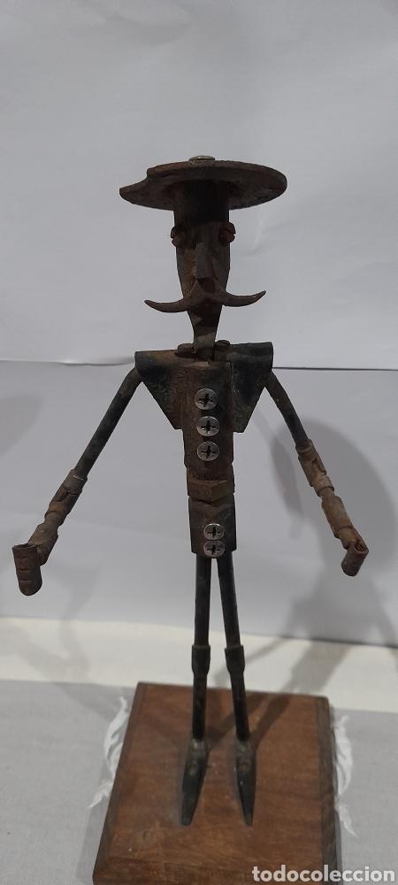 Arte: Escultura Antigua Don Quijote . Ver fotos. - Foto 2 - 245258695