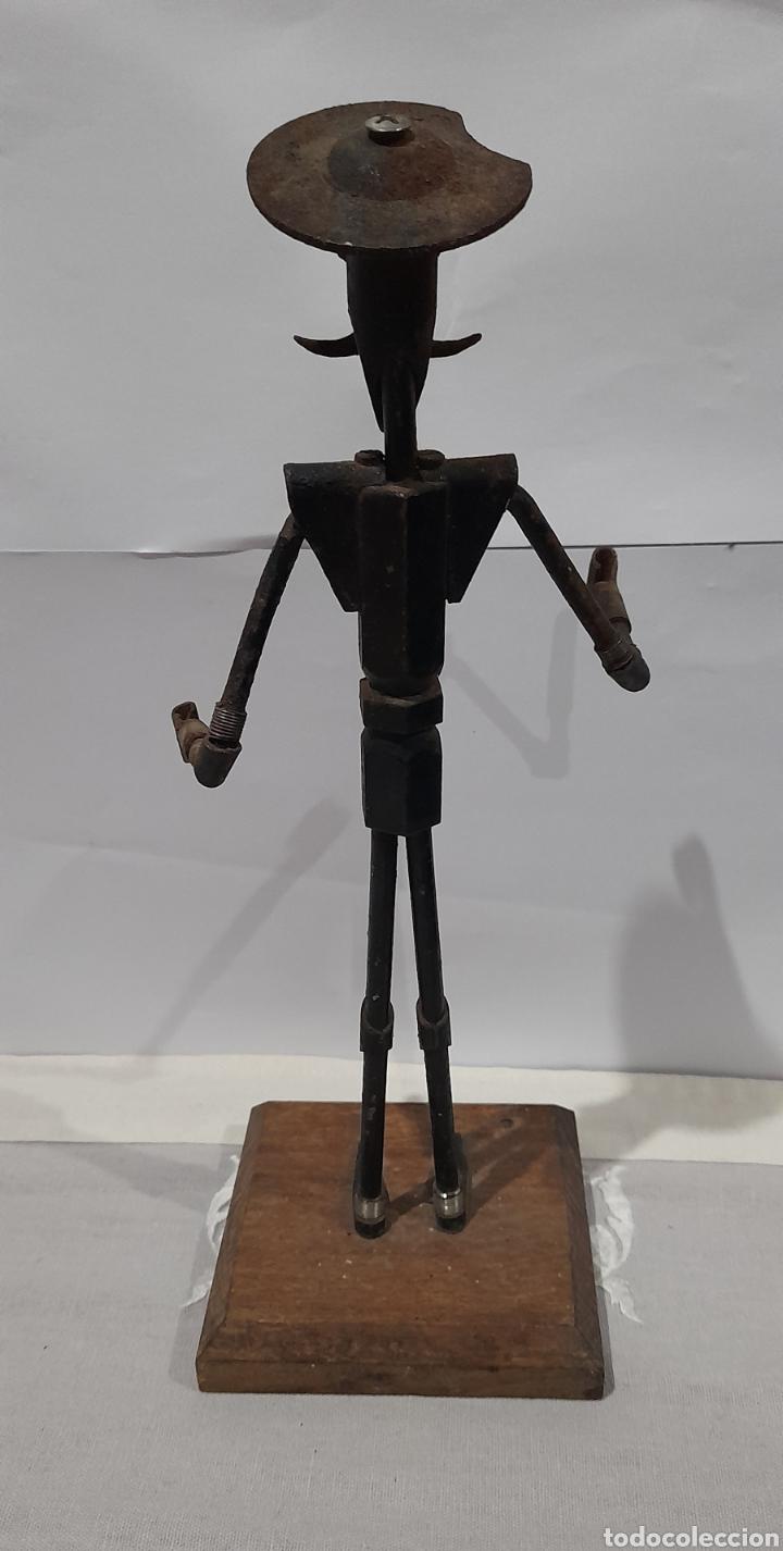 Arte: Escultura Antigua Don Quijote . Ver fotos. - Foto 3 - 245258695
