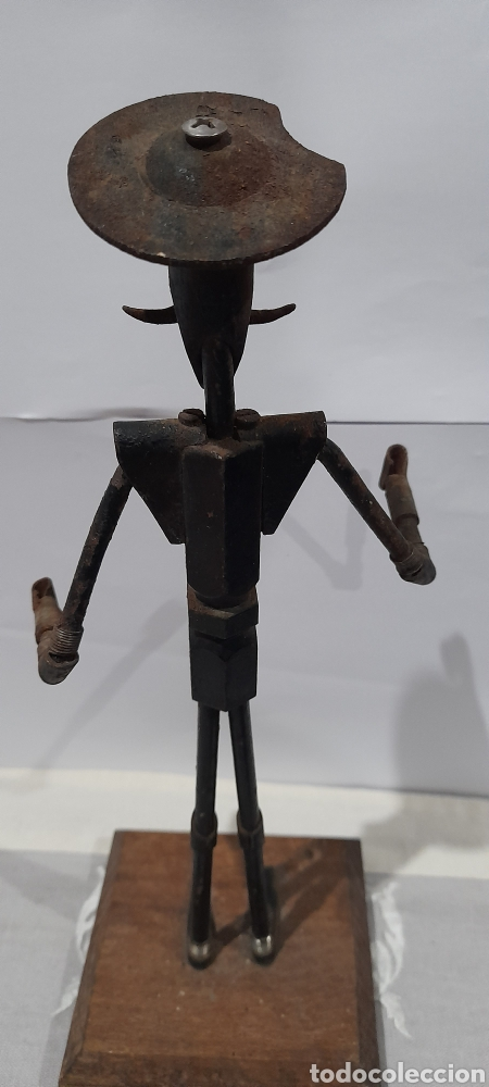 Arte: Escultura Antigua Don Quijote . Ver fotos. - Foto 4 - 245258695