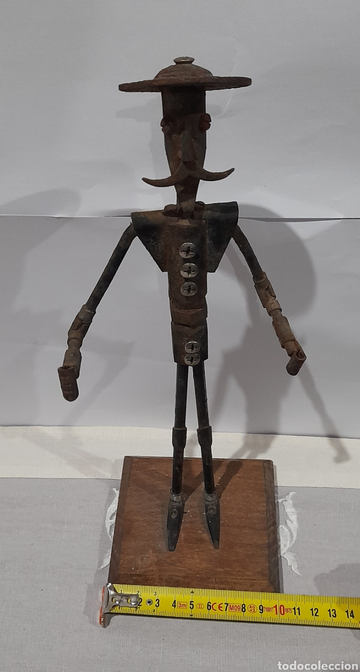 Arte: Escultura Antigua Don Quijote . Ver fotos. - Foto 5 - 245258695