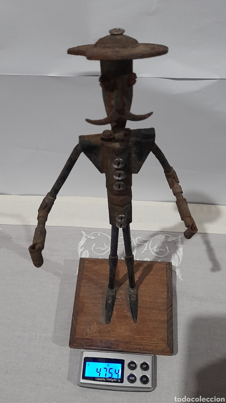 Arte: Escultura Antigua Don Quijote . Ver fotos. - Foto 6 - 245258695