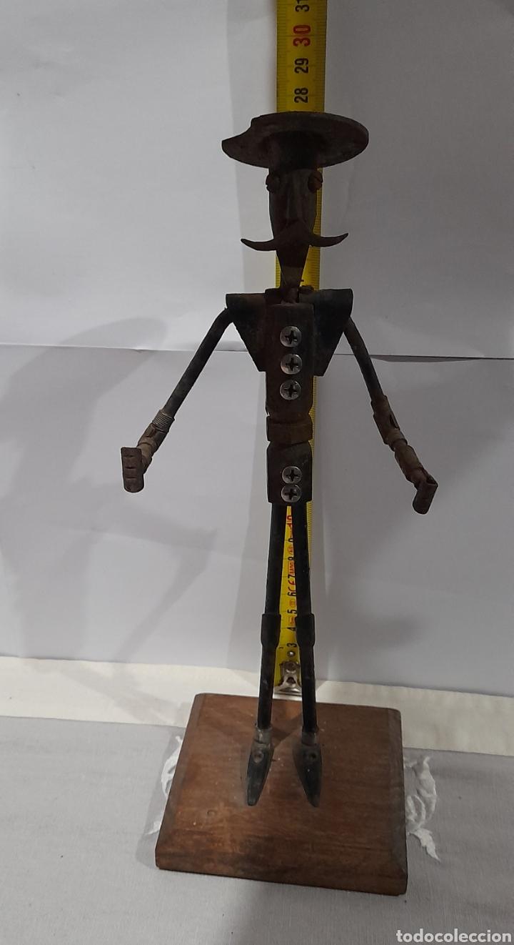 Arte: Escultura Antigua Don Quijote . Ver fotos. - Foto 7 - 245258695
