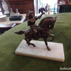 Arte: FIGURA DE CABALLO EN BRONCE. Lote 245776100