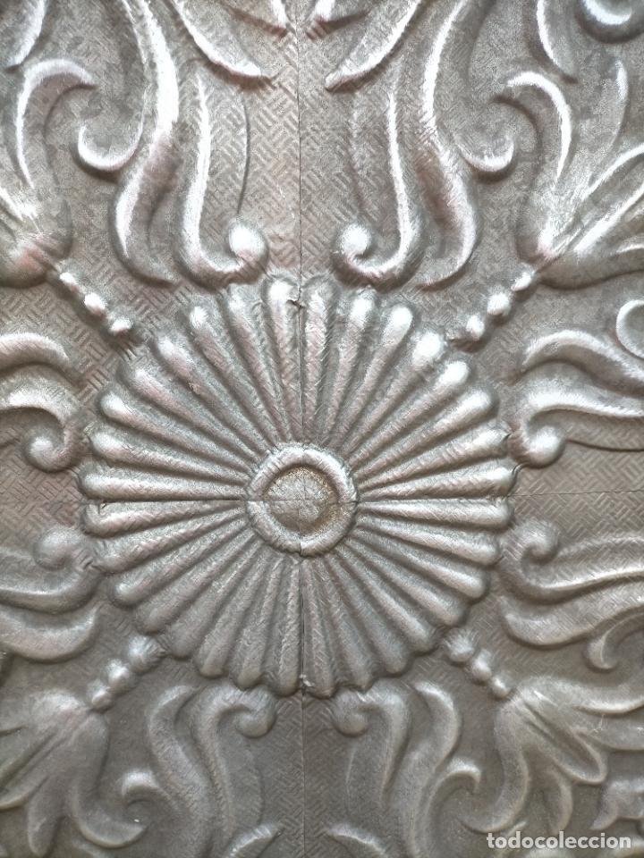 Arte: Cuadro escultura hecho con plancha de hierro prensada - Foto 3 - 245960480