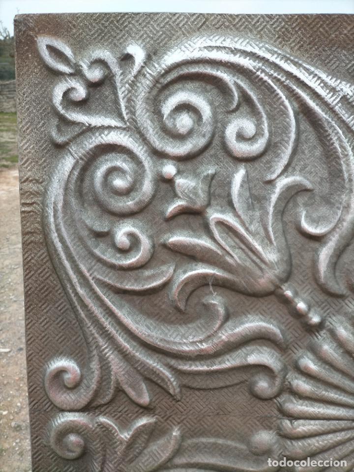 Arte: Cuadro escultura hecho con plancha de hierro prensada - Foto 4 - 245960480