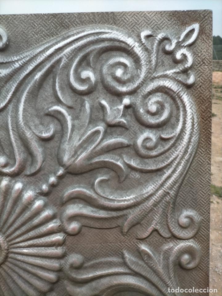 Arte: Cuadro escultura hecho con plancha de hierro prensada - Foto 5 - 245960480