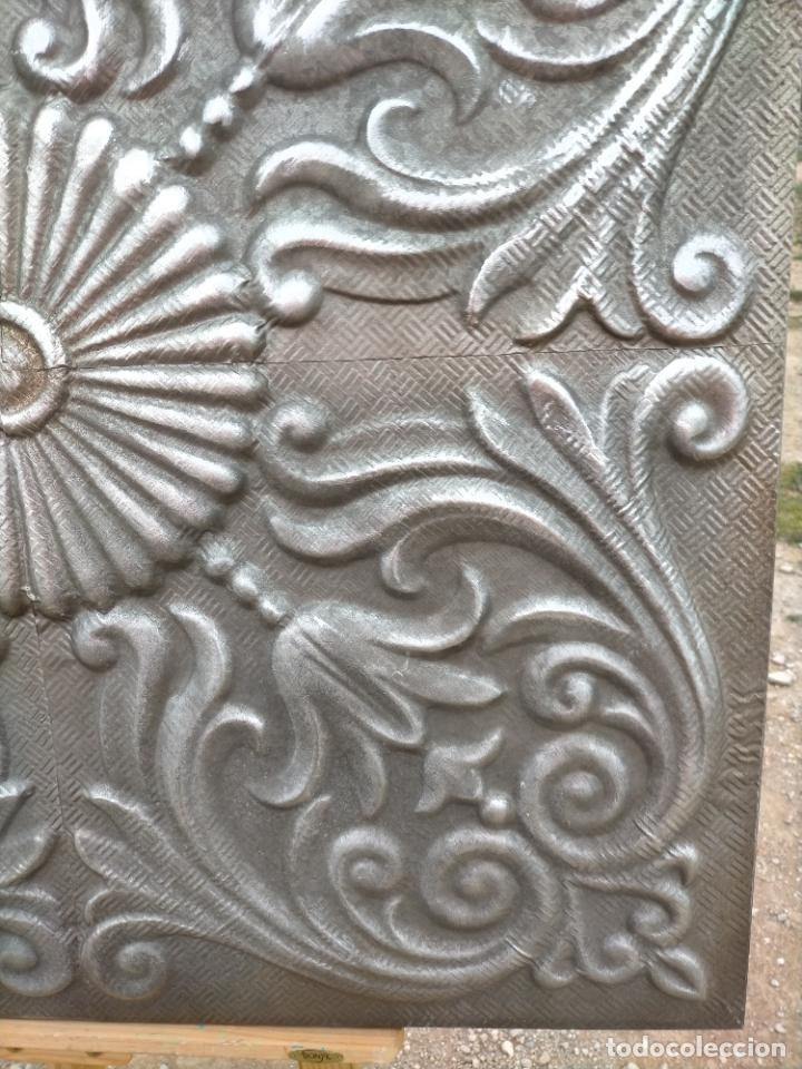 Arte: Cuadro escultura hecho con plancha de hierro prensada - Foto 6 - 245960480