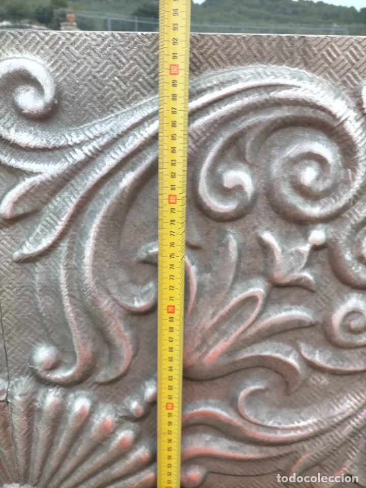 Arte: Cuadro escultura hecho con plancha de hierro prensada - Foto 8 - 245960480