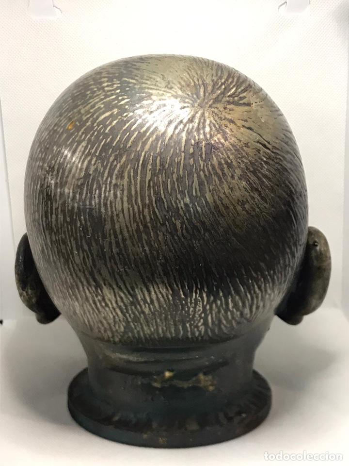Arte: Busto de metal cabeza de bebe - Foto 4 - 246009765