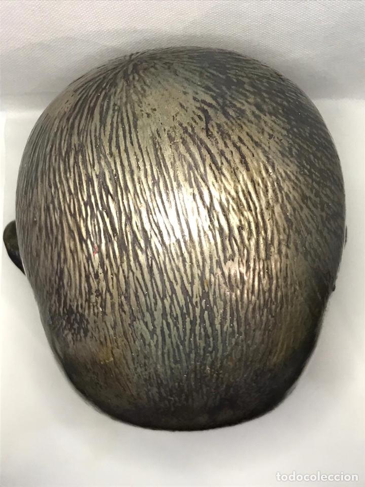 Arte: Busto de metal cabeza de bebe - Foto 8 - 246009765