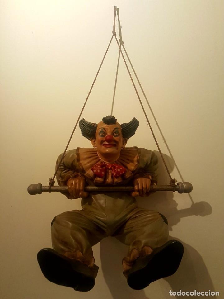Arte: Jun Asilo 1996. Clown Pagliaccio - Foto 2 - 249455285