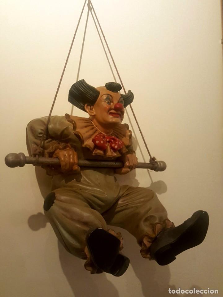 Arte: Jun Asilo 1996. Clown Pagliaccio - Foto 3 - 249455285