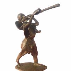 Arte: BRONCE AFRICANO, BENÍN PRINCIPIOS DEL SIGLO XX.. Lote 249458710