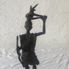 Arte: BRONCE AFRICANO, BENÍN PRINCIPIOS DEL SIGLO XX.. Lote 249460495