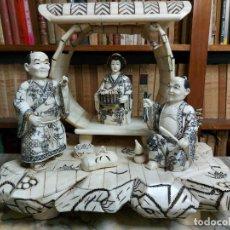 Arte: ANTIGUA ESCULTURA JAPONESA. Lote 253199605