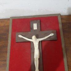 Arte: CRISTO EN MARFIL. Lote 253900830