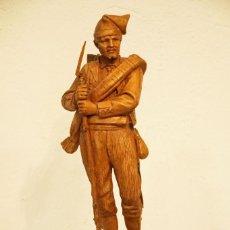 Arte: JOSEP CAMPENY SANTAMARIA (1858-1922) - LOS VOLUNTARIOS CATALANES DE LA GUERRA DE AFRICA DE 1860.. Lote 254579730