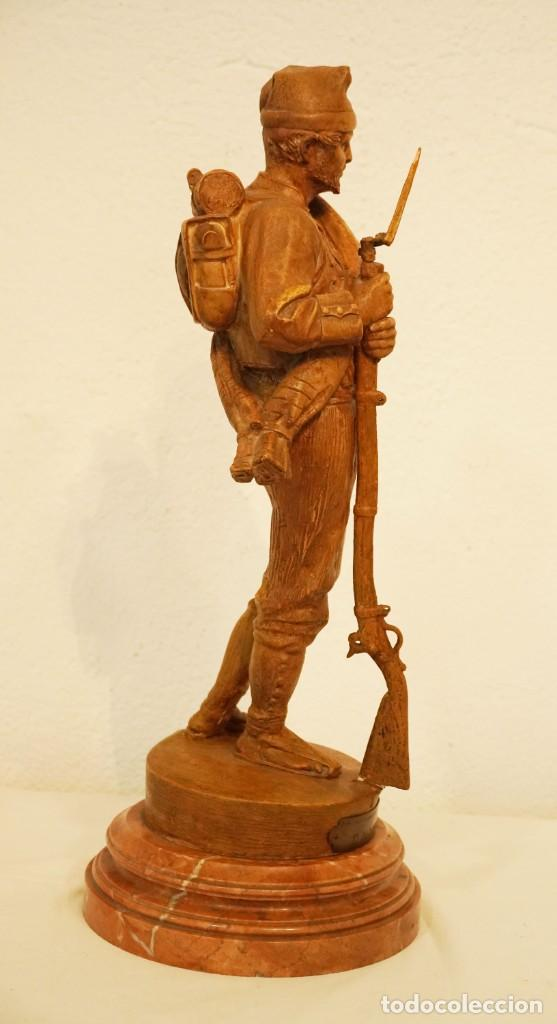 Arte: JOSEP CAMPENY SANTAMARIA (1858-1922) - LOS VOLUNTARIOS CATALANES DE LA GUERRA DE AFRICA DE 1860. - Foto 5 - 254579730