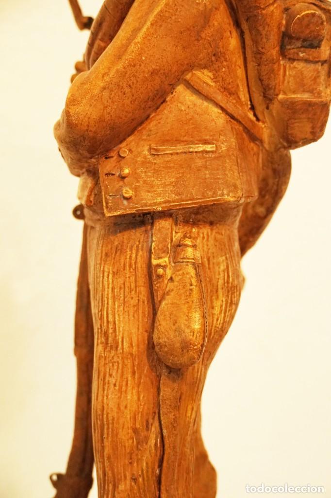 Arte: JOSEP CAMPENY SANTAMARIA (1858-1922) - LOS VOLUNTARIOS CATALANES DE LA GUERRA DE AFRICA DE 1860. - Foto 9 - 254579730