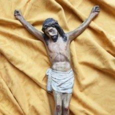 Arte: CRUCIFICADO DE CALAMINA POR SECO VELASCO DE SEVILLA.. Lote 36425782