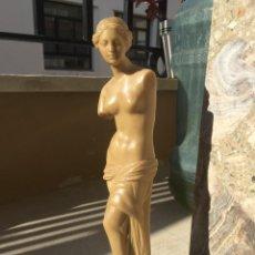 Arte: FIGURA DE LA VENUS DEL NILO. FABRICADA EN RESINA. TAMAÑO: 29 CTMS.DE ALTURA.. Lote 255413635