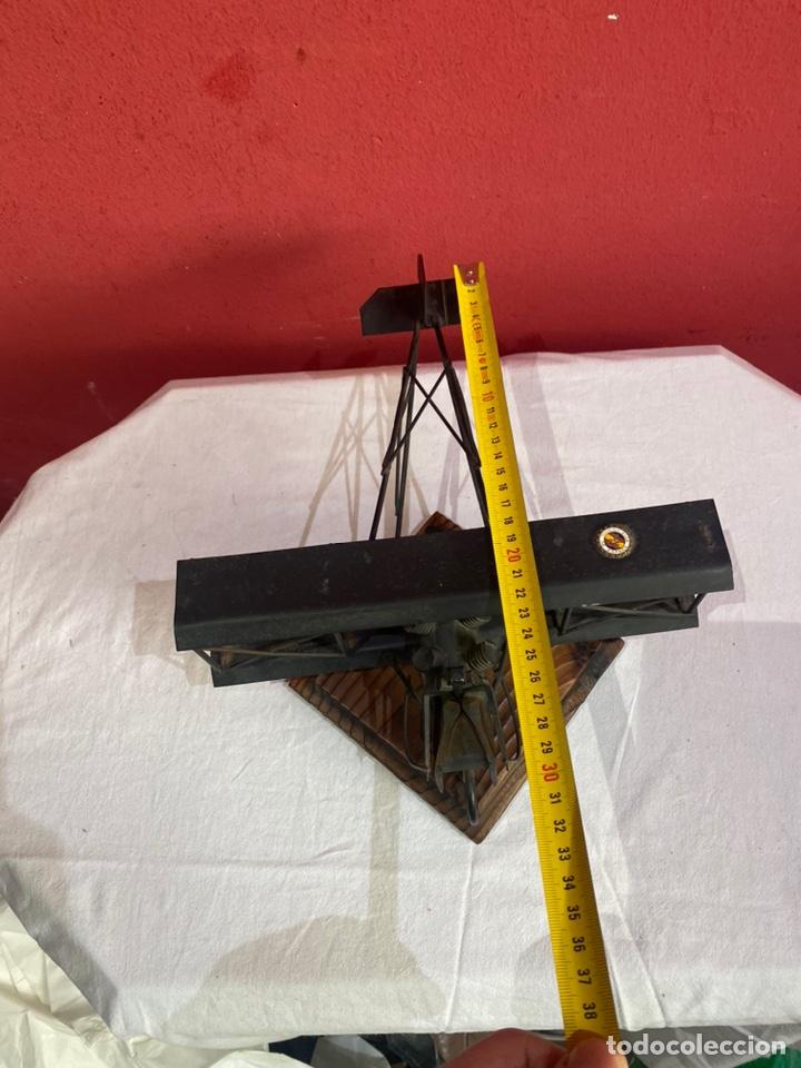 Arte: Antigua escultura avión hierro. Ver fotos - Foto 5 - 257882850