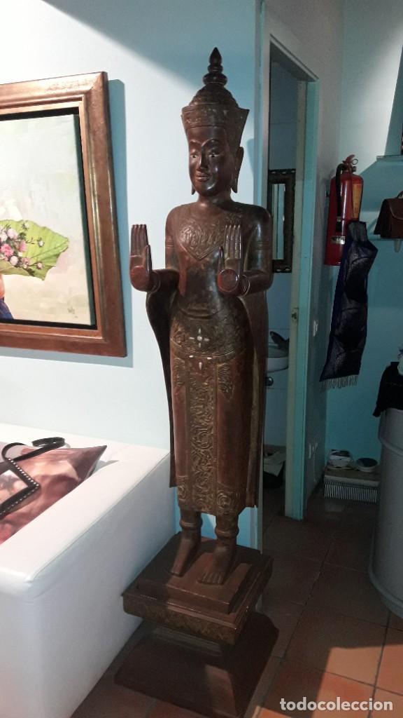 GRAN BUDA (Arte - Escultura - Madera)