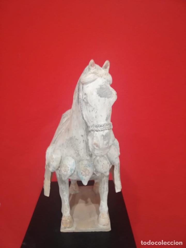 Arte: Caballo chino de terracota - Foto 2 - 259212710