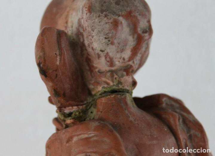 Arte: Dama dieciochesca en terracota de principios del siglo XX - Foto 12 - 259878300